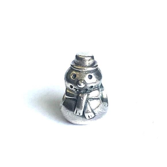 648b81342 Authentic Pandora Snowman Charm. M_5b08449da44dbeb09bcc0059